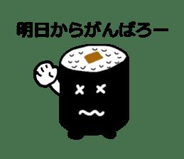 Cute Sushi talks! sticker #7975580