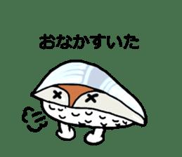 Cute Sushi talks! sticker #7975583