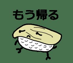 Cute Sushi talks! sticker #7975588