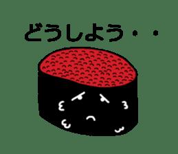 Cute Sushi talks! sticker #7975589