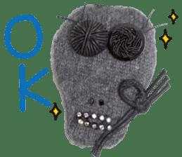 murmur of skull sticker #7979099