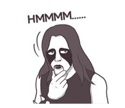 Daily Live of Black Metal sticker #7980173