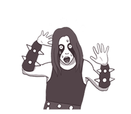 Daily Live of Black Metal sticker #7980179