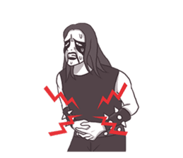 Daily Live of Black Metal sticker #7980197