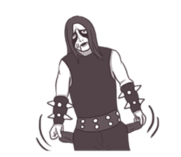 Daily Live of Black Metal sticker #7980200