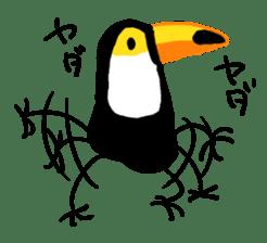 Happy Toco Toucan sticker #7986729