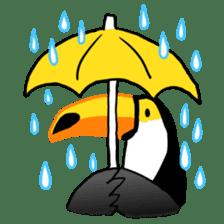 Happy Toco Toucan sticker #7986734