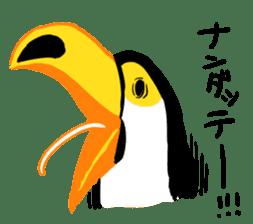 Happy Toco Toucan sticker #7986742