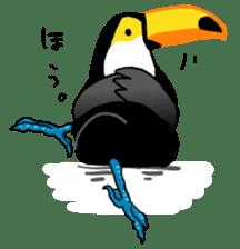 Happy Toco Toucan sticker #7986743