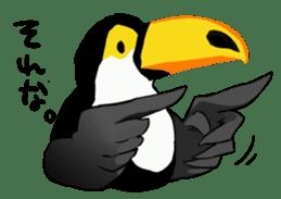 Happy Toco Toucan sticker #7986750