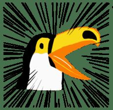 Happy Toco Toucan sticker #7986753