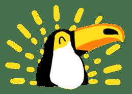 Happy Toco Toucan sticker #7986755