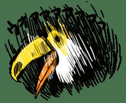 Happy Toco Toucan sticker #7986760
