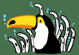 Happy Toco Toucan sticker #7986762