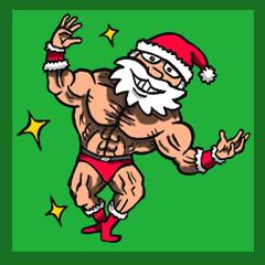Muscle Santa Claus