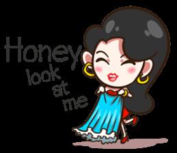 She's not a flirt (EN) sticker #7989858