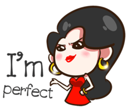 She's not a flirt (EN) sticker #7989860