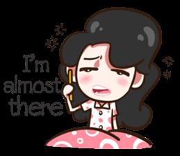 She's not a flirt (EN) sticker #7989864