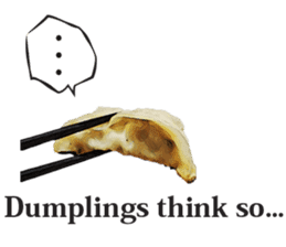 This is the dumplings ! sticker #7994264