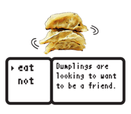 This is the dumplings ! sticker #7994273