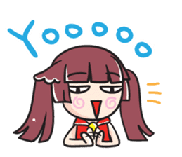 SHIRYOUKO's daily life English ver. sticker #8001231