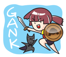 SHIRYOUKO's daily life English ver. sticker #8001235