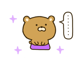 bear kumacha 2 sticker #8003646