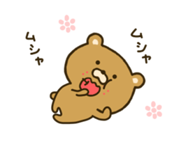 bear kumacha 2 sticker #8003660