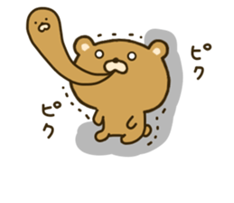 bear kumacha 2 sticker #8003665