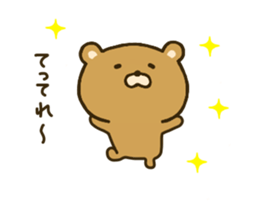 bear kumacha 2 sticker #8003671