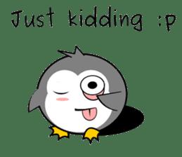 THUG PENGUIN sticker #8005218