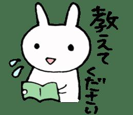 Try study hard sticker #8005311