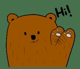 Boobaa Bear sticker #8008444