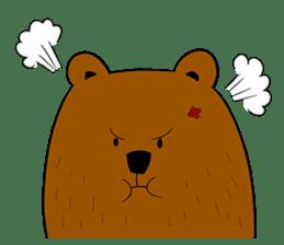 Boobaa Bear sticker #8008446