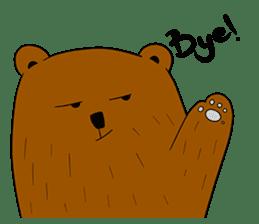 Boobaa Bear sticker #8008448