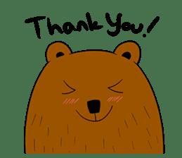 Boobaa Bear sticker #8008451