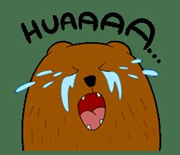 Boobaa Bear sticker #8008453