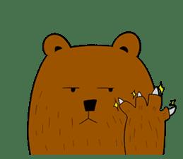 Boobaa Bear sticker #8008454