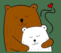 Boobaa Bear sticker #8008456
