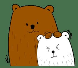 Boobaa Bear sticker #8008457