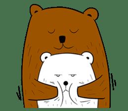 Boobaa Bear sticker #8008458