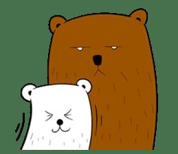 Boobaa Bear sticker #8008460
