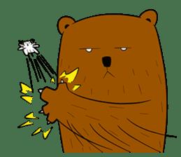 Boobaa Bear sticker #8008461