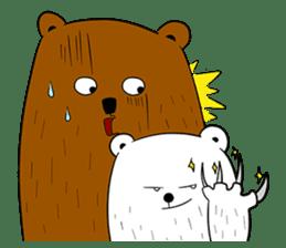 Boobaa Bear sticker #8008462