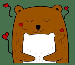 Boobaa Bear sticker #8008463