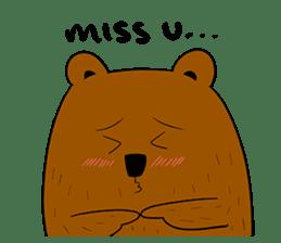 Boobaa Bear sticker #8008465