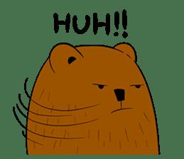 Boobaa Bear sticker #8008467