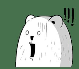 Boobaa Bear sticker #8008470