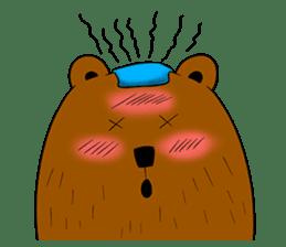 Boobaa Bear sticker #8008474