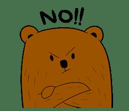 Boobaa Bear sticker #8008478